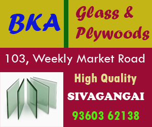 bka glass and plywoods shop at sivagangai