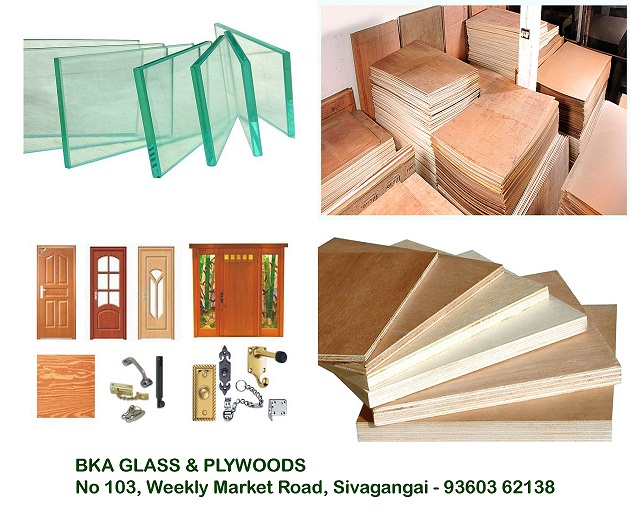 sivagangai bka glass plywood dealers