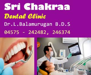sri chakraa dental clinic sivagangai