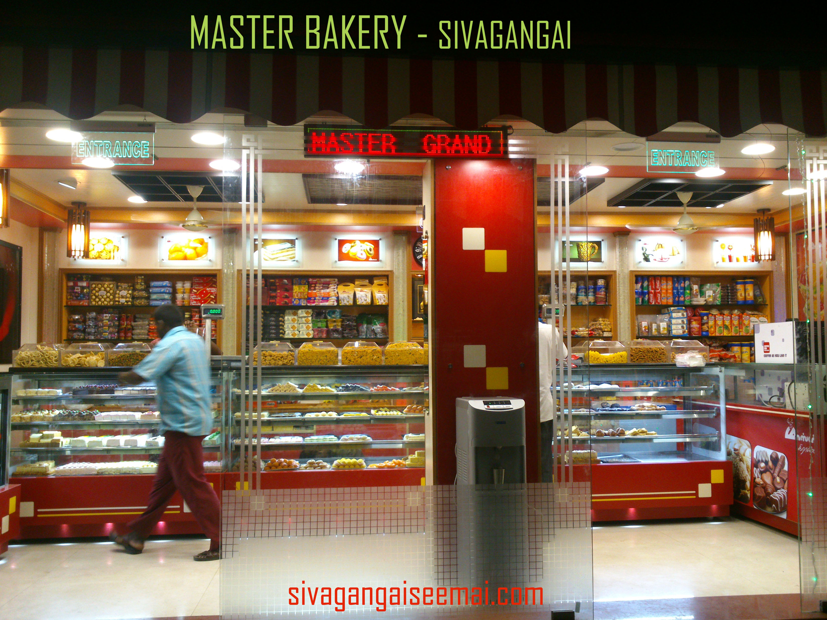 master bakery a cake shop from sivagangai
