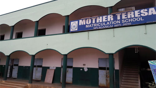 Mother Terasa Matriculation School located in Sivagangai