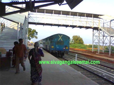 sivagangai railway station phone number and station code