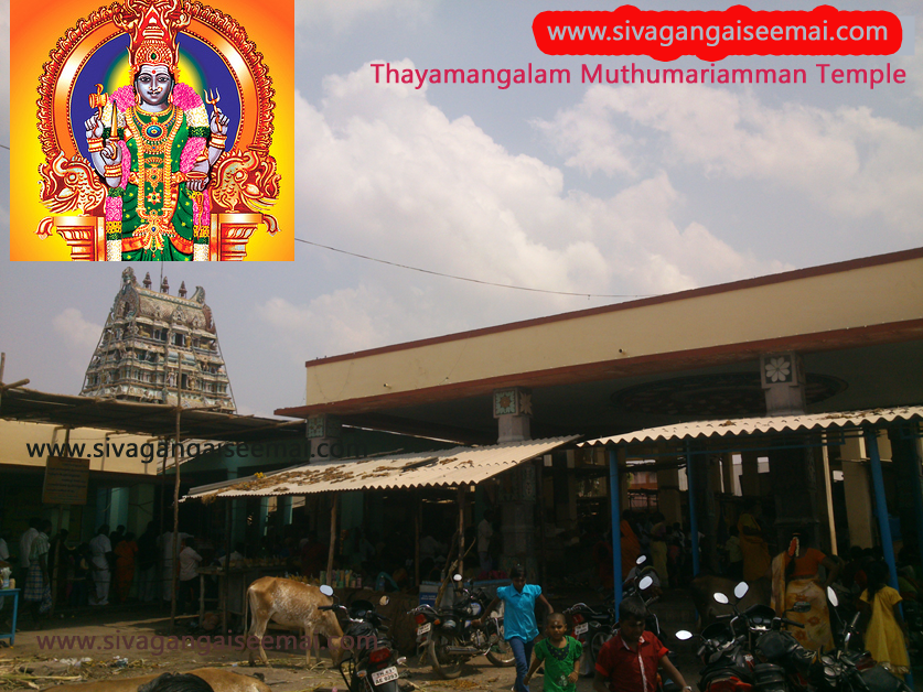 Excellent Thayamangalam Muthumariamman Kovil Elevation